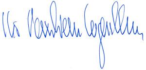 Inegnthron Unterdschrift