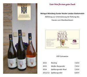 Wein + Preisliste
